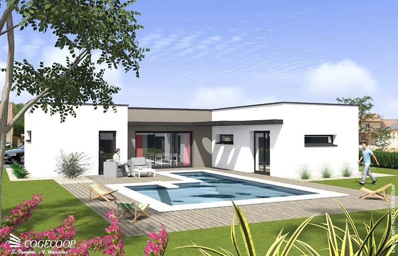 Maison individuelle Cogecoop Construire Loire Haute-Loire
