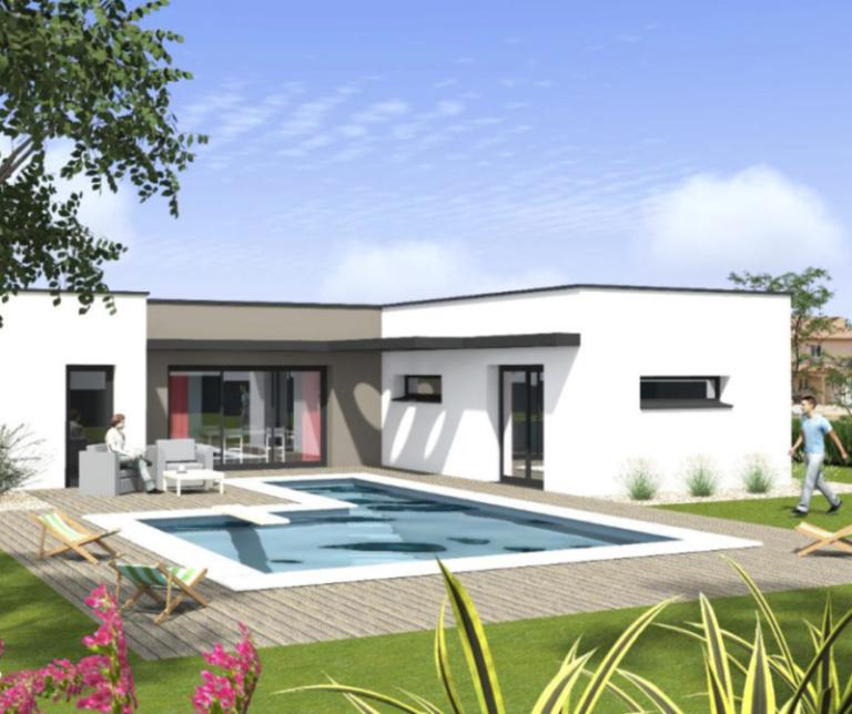 Maison contemporaine - Construire maison individuelle Cogecoop
